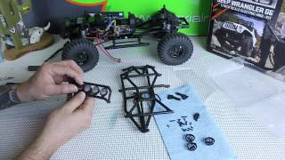 Axial Scx10 Jeep Wrangler G6 Body And Paint Part 1