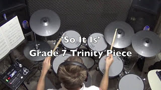 Andy Frost Drums. 'So It Is' Grade 7 Piece, Trinity College