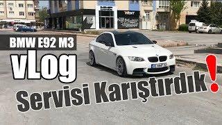 MMPower BMW E92 M3'le Yetkili Serviste | vLog