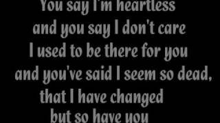 The Rasmus - Guilty (with lyrics)
