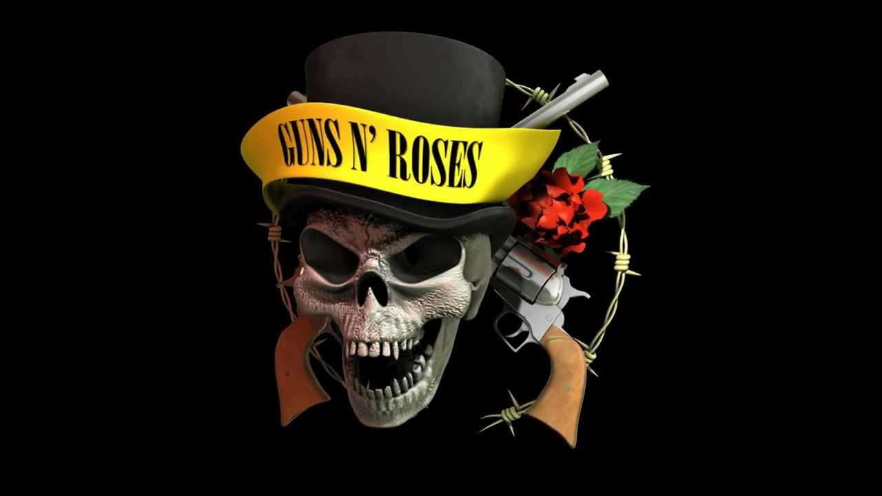 3d Maya Guns N Roses Logo Rotation Youtube