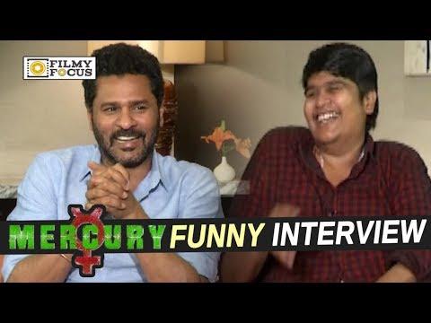 Prabhu Deva and Karthik Subbaraju Funny Interview about Mercury Movie - Filmyfocus.com