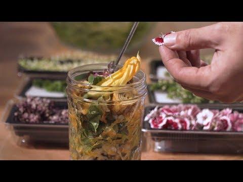 【花朵罐沙拉】DIY食用花沙拉罐salad x dressing─型男主廚 潘瑋翔Fly