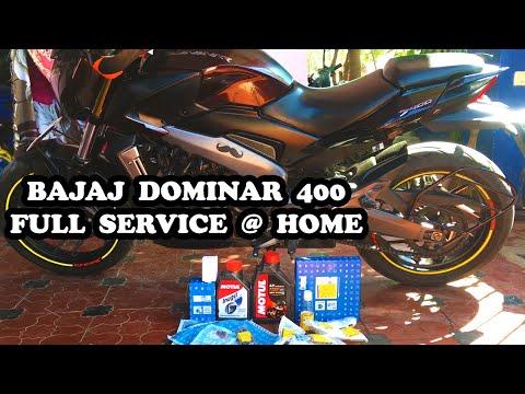 Bajaj Dominar 400 Full Service @ Home | Timelapse | DIY