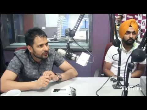 interview of Amrinder gill and Ammy virk With Rj Jassi | angrez