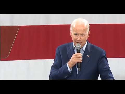 Crowd Greets Joe Biden With Welcome, Mr. President In Ohio
