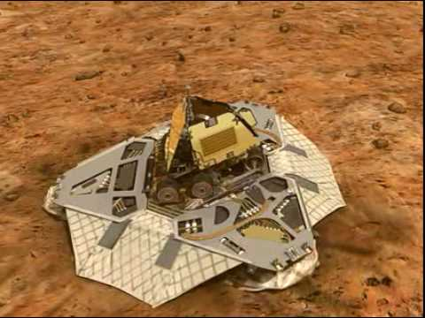 mars curiosity rover landing animation - photo #32