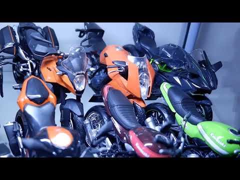 DIECAST MOTOR SKALA 12 #SALAMSATUETALASE