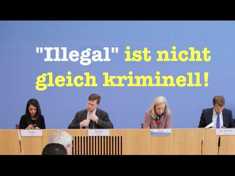 """""""Illegal"""" ist nicht gleich kriminell! - Komplette BPK vom 21. März 2016"""