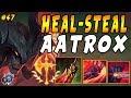 AATROX | Infinite Lifesteal + High Damage BURST = 100 to 0 Enemies | Iron IV to Diamond Ep #47