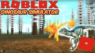 Roblox Dinosaur Simulator - Red The Raptor! (Best Revenge)