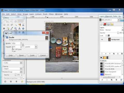Crop Image while preserving Aspect Ratio Part 2(GIMP) - Ultimate Ebook Creator