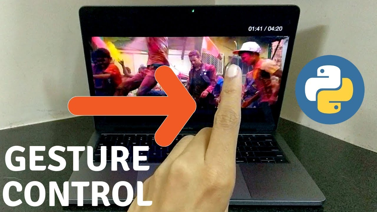 Gesture Control Your Media Player with Python | Hand Gesture Recognition | Machine Learning | OpenCV