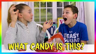 Kayla and Tyler try different candies from all over the world. Each...