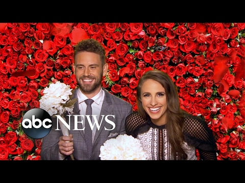Bachelor Nick Viall and his new fiancee play Wedded Bliss or Total Miss