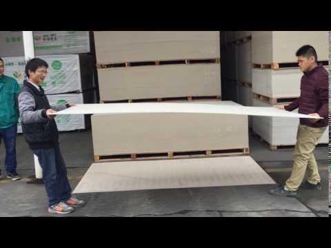 Foshan Olar Co , Ltd 4 5mm Fiber Cement Board Test Flexibility