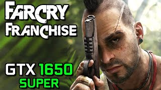 Far Cry Franchise on GTX 1650 SUPER - 2004 to 2019 - Complete Benchmark Tests!
