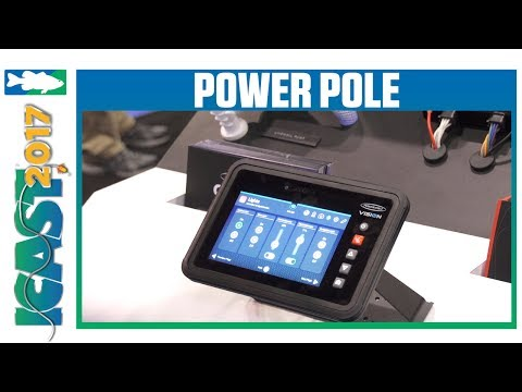 New Power-Pole Charge & Vision Marine Dash Control | ICAST 2017