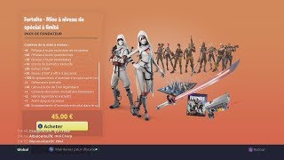 FORTNITE PACK ULTIME FOUNDER A 150