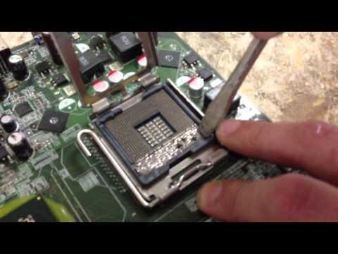 Using 478 socket CPU on 775 socket motherboard retrofit hack