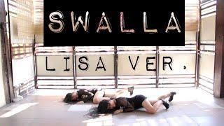 BLACKPINK LISA 'SWALLA' SOLO DANCE - RED BULLET Cover