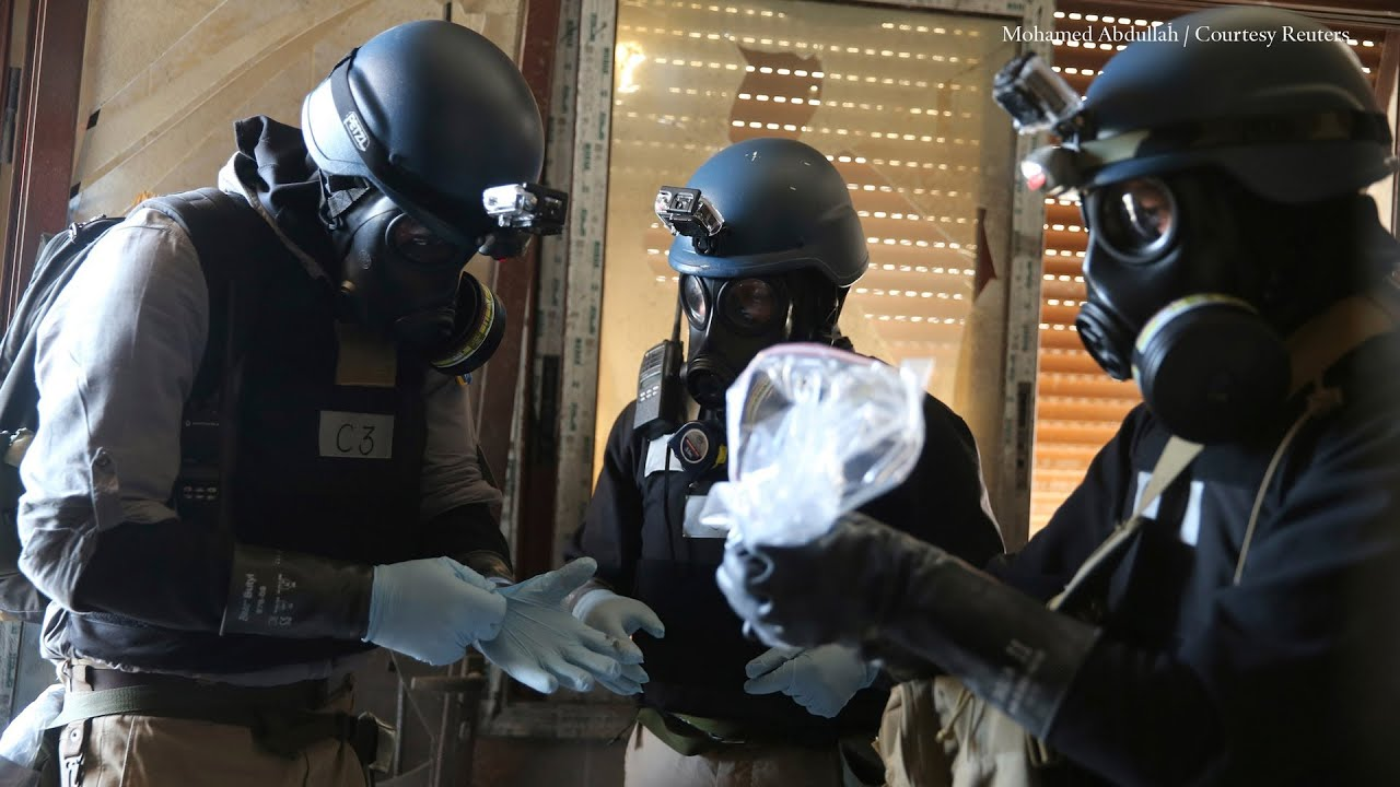 weapons inspector refutes us syria chemical claims - HD 1920×1080