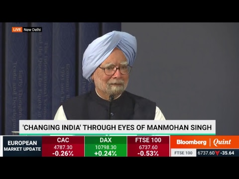 Former PM Manmohan Singh On His Book - 'Changing India'