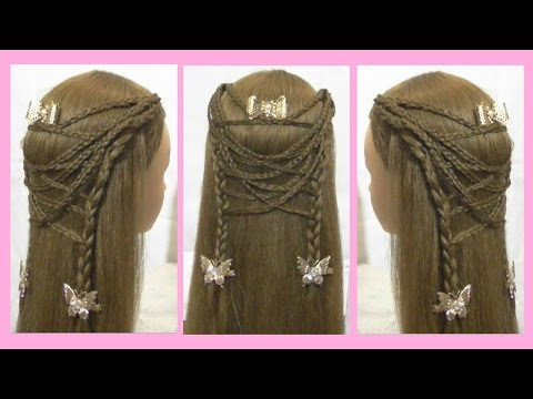 Hair Tutorial l Cute and Easy Hairstyle For School Girls For Long Hair & Medium Hair