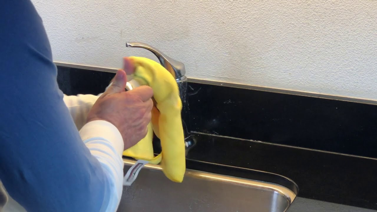 How To Remove Hard Water Deposits From Stone Surfaces