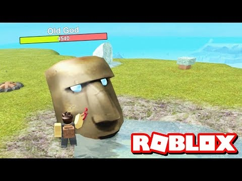 DEFEATING THE OLD GOD!! | Roblox Booga Booga