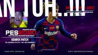 PES 2020 GEMBOX PATCH UPDATE REV.1 PS3 SUMMER TRANSFER