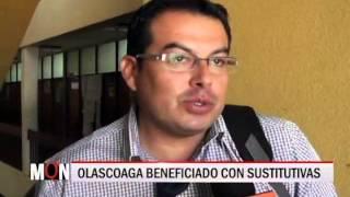 26/08/2015-20:14 OLASCUAGA BENEFICIADO CON SUSTITUTIVAS