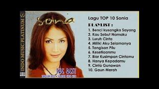 10 LAGU SONIA PALING POPULER - HQ Audio !!!