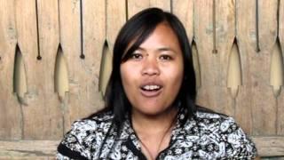 Sang Ayu from YAKKUM Bali introduces life and job skills programs for Bali's physically disabled