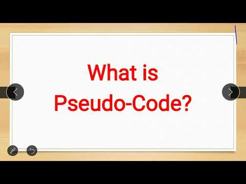 What is pseudo code.