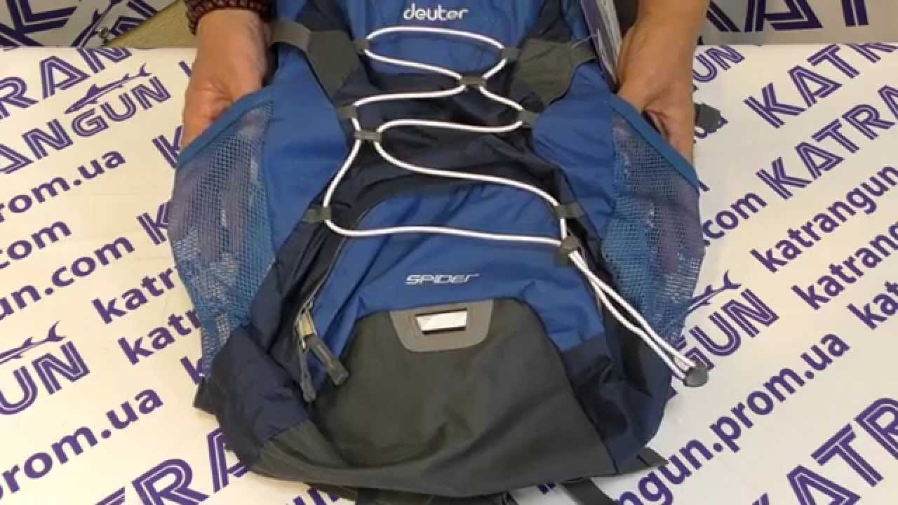 Рюкзак Deuter Race Exp Air 12+3 - YouTube
