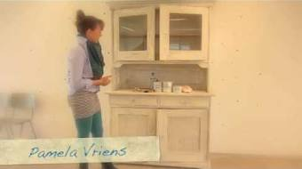 Kitchen Tiles Part 1 Annie Sloan Chalk PaintTM En Wax Aanbrengen In 6 Minuten NL