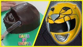 Yellow Power Ranger Cake (How To)  Feat. Jayden Rodrigues