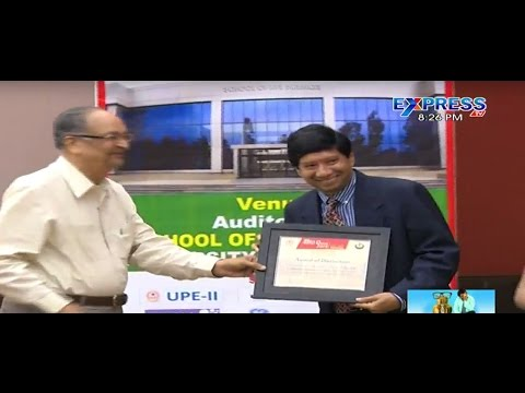Hemarus Therapeutic Ltd chairman Dr Chigurupati Jayaram received an excellence award - ExpressTV