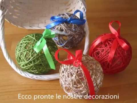 Lavoretti di natale diy youtube for Youtube lavoretti di natale