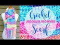 How To Crochet A Scarf for the Absolute Beginner
