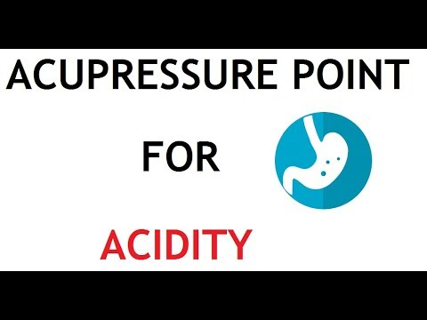 3 Acupressure Point for Acidity - YouTube