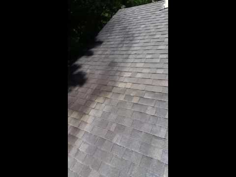 Roof Cleaning in Fayetteville, Ga | Shingle Roof Cleaning | Black Stain Removal