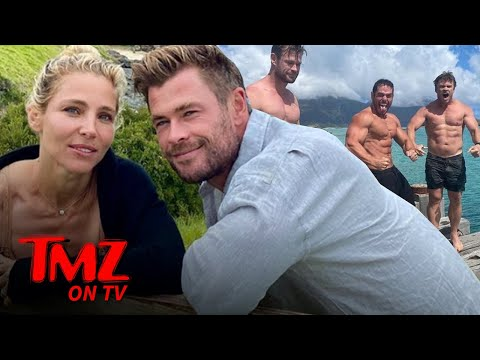 Chris Hemsworth Vacations in 'Paradise' with Family, Including Brothers Liam and Luke | TMZ TV