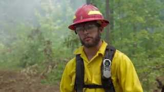 Forestry Students Jump Out of the Classroom and into the Fire
