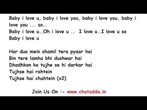 Pehli Nazar Mein Lyrics Full Song Lyrics Movie  Race 2008 Atif Aslam