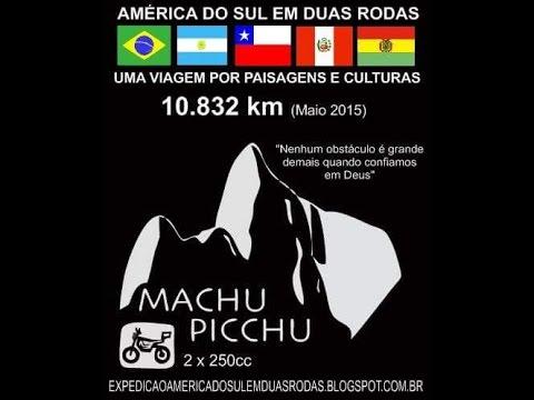 #ViagemDeMoto #AméricaDoSul #MachuPicchu  #HondaTwister #YamahaFazer