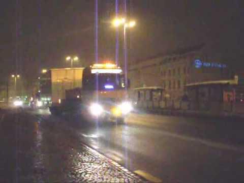Przejazd gabarytów przez centrum Gdańska - Firma Dziedzic