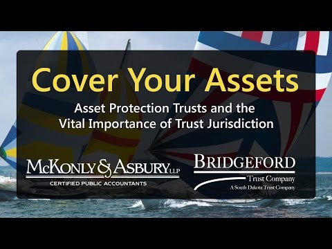 Cover Your Assets: Asset Protection Trusts