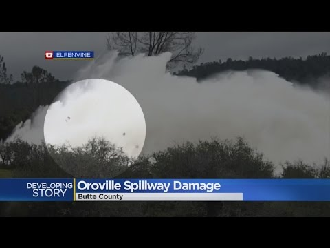 Despite Hole In Spillway, Officials Will Release More Water From Oroville Dam If Necessary